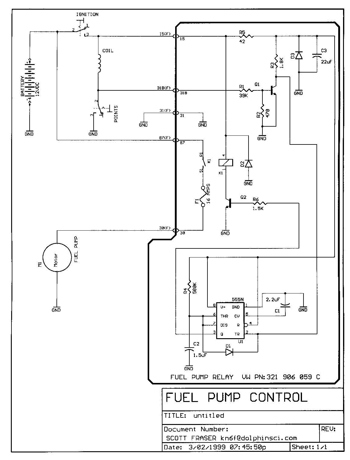 electrical fuel pump rh dinsen net Fuel Pump Connections Mustang Fuel Pump Wire Diagram